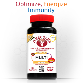 New York, NY � Hercules Vitamins � Multivitamins 60